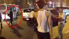 实拍:小偷当街被抓遭暴打 众人围殴狠踹