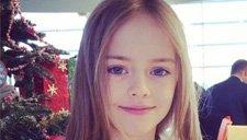 世界最美少女!9岁超模 五官精致似洋娃娃