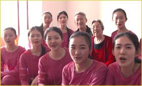 中国超级模特大赛总决赛30强选手爱心日
