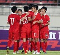 国奥3-0老挝进正赛