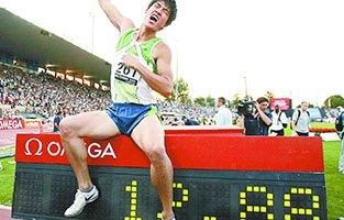 2006洛桑田径超级大奖赛12秒88破世界纪录