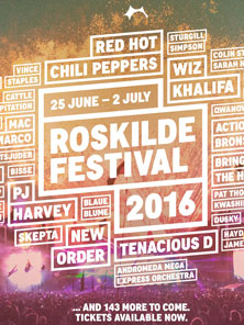 2016丹麦罗斯基勒音乐节