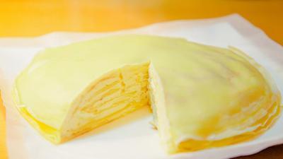 平底锅做榴莲千层蛋糕 美味盖浇饭亲子丼