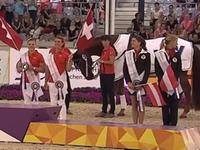 国际马联马术欧锦赛 马背体操自由团体决赛全场