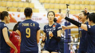 朱婷强势复出  中国女排轻取阿根廷获五连胜