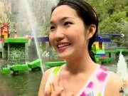 《冲关大峡谷》20150912:山西姑娘现场跳热舞 冲关失败依然大露笑脸
