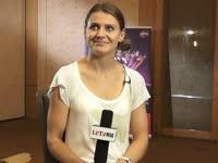 【中字】乐视网球访问萨法洛娃 若身体允许会继续双线出战