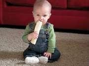 汪星人与婴儿的搞笑日常