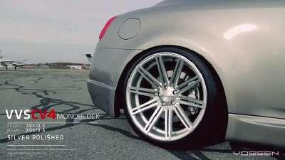 英菲尼迪g37改装20寸vossen轮毂