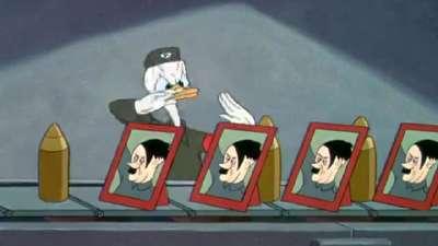 1943 第15届奥斯卡最佳动画短片 元首的面孔 Der Fuehrer's Face