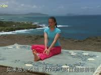 蕙兰瑜伽之特定功效  怀孕中期瑜伽 单腿交换伸展式