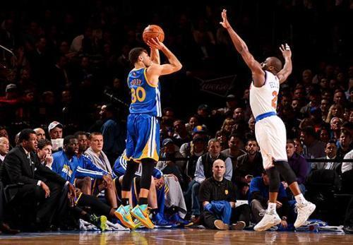 NBA史上最伟大的十大三分投手:库日天也只能排第三,第一无争议