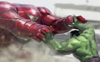 广告合集:复联2巨型钢铁侠PK浩克