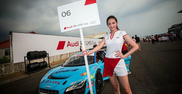奥迪R8 LMS杯首次登陆全长3.527公里的大鹏湾国际赛车场
