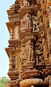 充满情色艺术的庙宇