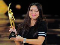 风云人物李娜蝉联最佳 三度获奖首次现场领奖