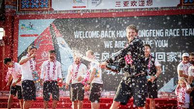 强劲东风三亚见证(一) 沃尔沃环球帆船赛第三段