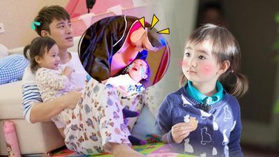 贾乃亮扮猪丑哭甜馨 奥莉壁咚哥哥称