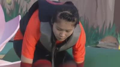 安徽合肥 男生队战胜女生队