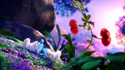 《蓝精灵:寻找神秘村》角色预告  顶级动画大片引爆口碑狂潮