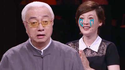 徐帆偶遇蔡正仁激动泪目