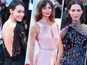 第74届威尼斯电影节开幕红毯 众女星盛装亮相各有千秋