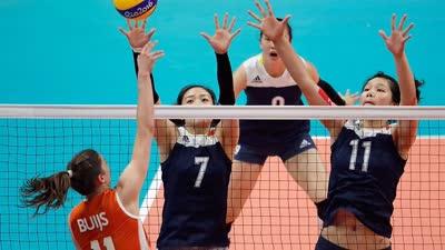 奥委会:年轻的中国女排展现出与众不同的成熟
