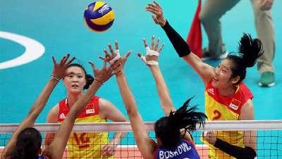 赢了! 女排决赛中国3-1胜塞尔维亚强势夺金