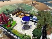 成都保利花园别墅庭院设计效果案例