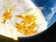 2029年阿波菲斯小行星撞击地球末日模拟