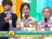 红薯夫妇再合作 与孝渊一同主持Music Core