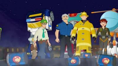 变形金刚 救援机器人 第二季09