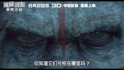 《猩球崛起:黎明之战》导演问候版预告