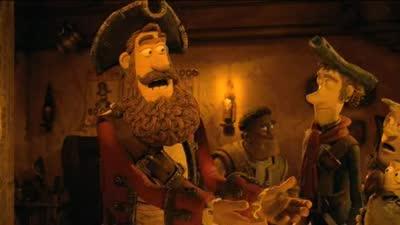 《神奇海盗团》 片段之Big Boned