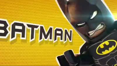 《乐高大电影》新曝预告 蝙蝠侠联手超人保卫和平