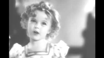 卖萌的秀兰·邓波儿--影片:《宝贝答谢》