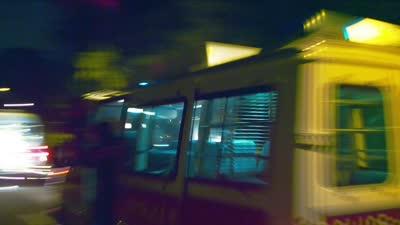 """《冲锋车》众主创组""""警察大盗团"""""""