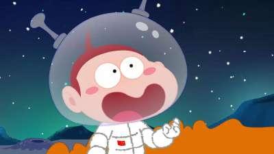 阿U之梦想系列33-奔向月球