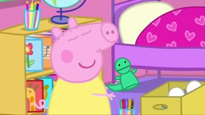 粉红猪小妹41 克洛伊的木偶表演