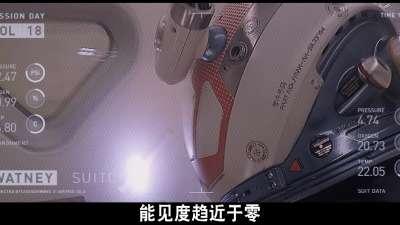 《火星救援》独家视频:风暴来袭片段