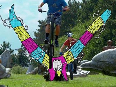 当自行车遇到动画