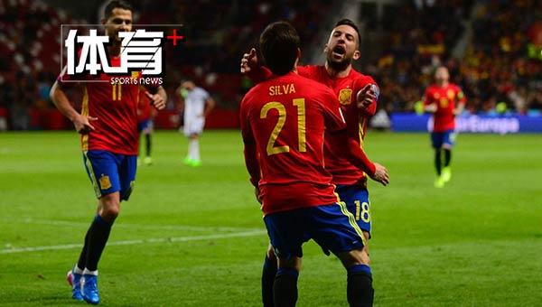 西班牙4-1领跑 德布劳内训练受伤缺战希腊