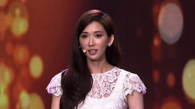 林志玲演讲回应花瓶论 坦露受伤往事路人转粉