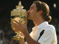 2004温网费德勒击败罗迪克 成功卫冕夺赛会第2冠