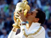 2009温网费德勒险胜罗迪克 摘第六冠重回草地之巅