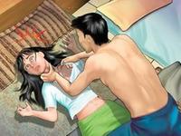 男子抢劫强奸女子逃跑时掉粪坑 为跑赢警察经常练跑步