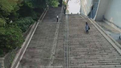 韩剧出镜率最高的南山塔 南山公园看三顺阶梯