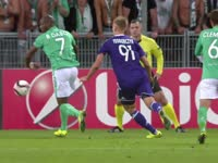 录播:圣埃蒂安VS安德莱赫特 16/17赛季欧联