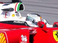 秘籍!拧麻花开车!F1美国站FP1:维特尔左手护右镜