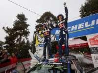 WRC蒙特卡洛站SS17集锦 奥吉尔雪中夺赛季首胜